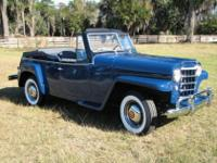 1950 Willys overland Jeepster ConcoursYear: