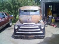 1950 Dodge Pilot house 5 window. Sits on s10 chassis