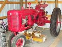 1950 International Farmall - C. Rebuilt about 14 years