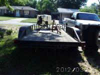 Has Long Trailer to Haul Tractor $1250 Bush Hog - $350