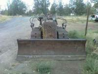 1950's TD6 diesel cat dozer. Runs good. All fluids
