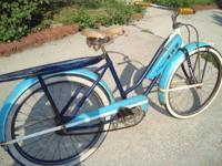 1950's JC Higgins Girls Bicycle . A Sears Product . All
