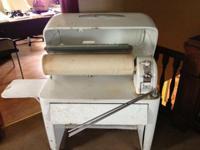 1950's SEARS Kenmore Fabric Linen Mangle/Ironer Press
