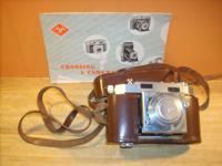 1950s Agfa Karat 36 Synchro Compur Camera made in