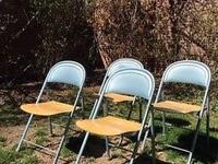 Gorgeous set of four vintage American Seating Company