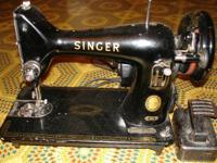 This is a VERY NICE sewing equipment produced in 1958.