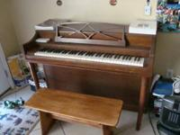 Vintage 1951 / 1952 Upright Gulbransen Piano-- serial #