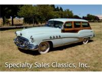 This 1951 Buick Roadmaster Woody (Stock # F1102) is