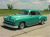 1951 Chevrolet 2 door sedan. Chevrolet mounted on a