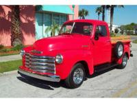 1951 Chevy Stepside Pickup for Sale, Inline 6 Cyl with