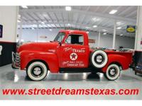"Here is another cool ""Fat Fender"" Chevy truck with a"