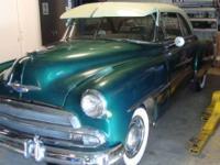 1951 Chevrolet Bel Air 2DR HT Rare Car All Original