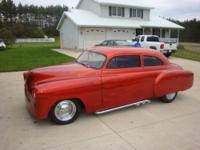 1951 chevy styleline custom for sale. top chopped 4