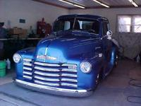 Hi there, I have a 1951 Chevy 5 home window pickup for