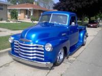 Hello there, I have a 1951 Chevy 5 window pick-up for