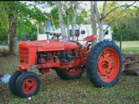 For sale by owner $1500 firm 1951 Farmall H series