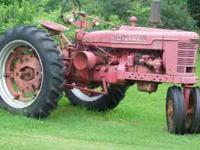 1953 Farmall H Tractor $4,295.00 2nd owner, straight