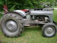 1951 Ferguson TO30 tractor, 29 hp, field ready, new