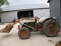 Nice tractor, gauges work, new radiator, several new