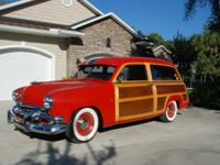 1951 Ford Country Squire  Car is in very good shape