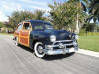 1951 Ford Country Squire Woodie Wagon Fully Restored