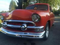 1951 ford two door sedan 5.0 from a 89 mustang total