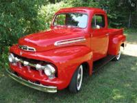 1951 Ford F1 Deluxe 5 Star Extra Pickup This all steel