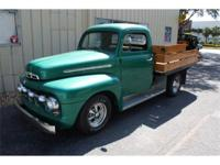 1951 Ford F100 - 350 Chevy with turbo 350 trans -