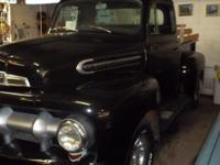 Really sharp 1951 Ford Pickup Truck with a 327 Chevy