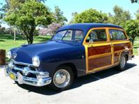 1951 Ford Woody with Classic Styling and modern