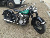 1951 Harley-Davidson FL Panhead BEAUTIFULBEAUTIFUL 1951