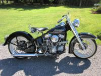 1951 Harley Davidson PanheadRestored from an original