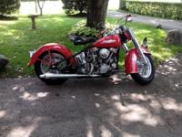 1951 Harley Davidson panhead hydro-glide with 508 mi on