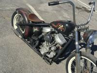 1951 Harley Davidson FLH Panhead Ridged. It does run