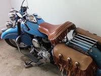 1951 Indian Chief Roadmaster with 3 speed 74 cubic inch