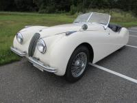 This 1951 Jaguar XK 120 is a numbers-matching, running