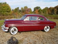 51 merc coupe V8 Flathead 3 spd working overdrive trans
