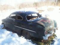 Offered for sale is an original 1951 Mercury 2 door