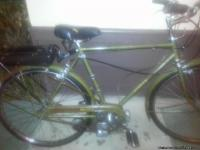 1951 Raleigh Sports (Baby Mosquito) bicycle/moped. A