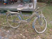 "Extremely rare old 26"" women's bicycle.Shelby Flyer"