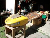 1951 skim boat maybe the last one,motor is in the