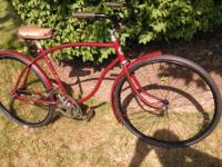 1951 Westfield bike, built in westfield ma. dated by