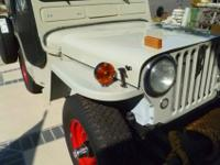 Nicely restored, sharp cj3a, fantastic everyday driver,
