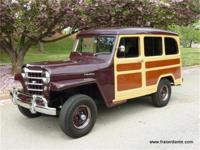 1951 WILLYS 'WOODY' STATION