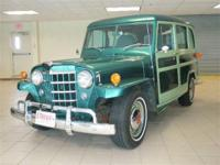 Here is a good looking Willys with a 351 V/8 and