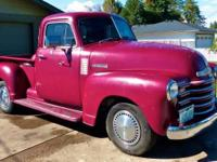 1951 Chevy Pick Up for sale (OR) - $19,900. '51 Chevy