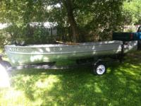 I have a 1952 V Bottom Alumacraft John Boat with