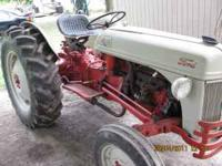 I have a 1952 Ford 8n tractor forsale. I'm asking