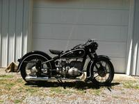 1952 BMW R-51/3, it was nicely restored, has fresh