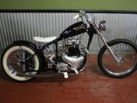 1952 BSA A10 Golden Flash Bobber. Built about 6 years